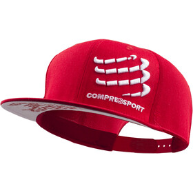 Compressport Flat Cap Red